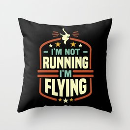 Freerunning Parcour Throw Pillow