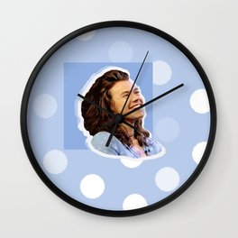 Harry Styles Polka Dot Wall Clock