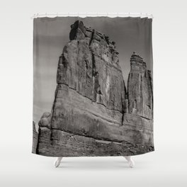 Courthouse Rock Shower Curtain