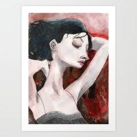 Bask Art Print