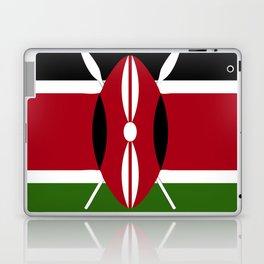 Kenya flag emblem Laptop & iPad Skin