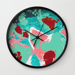 Marble texture 20 Wall Clock