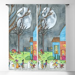 Trick or Treat Blackout Curtain