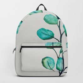 Green eucalyptus Backpack