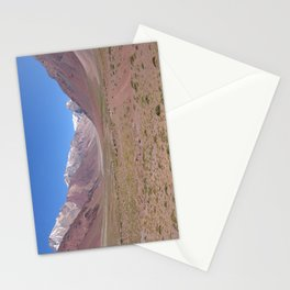 Mountain views near Aconcagua, Argentina Stationery Cards