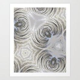 fractals curves Art Print