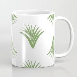 Pandanus Leaf Pattern - Green Coffee Mug