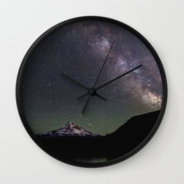 Summer Stars at Lost Lake - Nature Photography Wall Clock