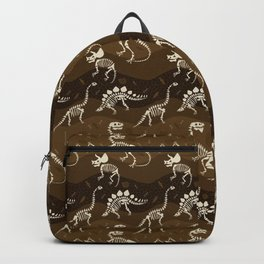 Fossil Dinosaur Pattern Backpack