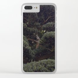 Tree in a Japanese Garden Clear iPhone Case