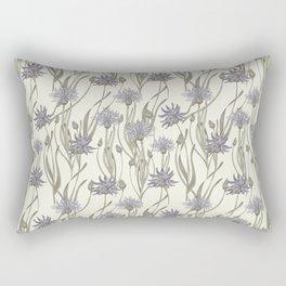 vintage cornflowers Rectangular Pillow