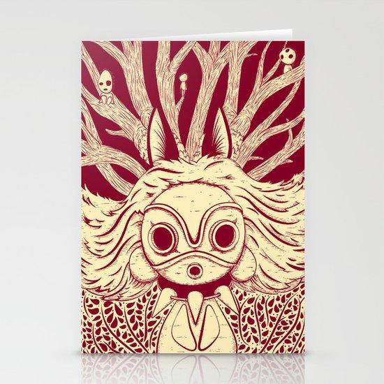 Princess Mononoke Stationery Cards