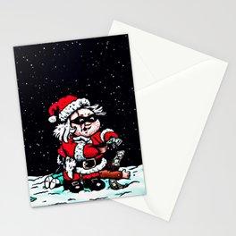 Santa Night Thief Stationery Cards