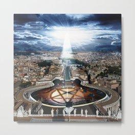 Vatican Rocking View Metal Print