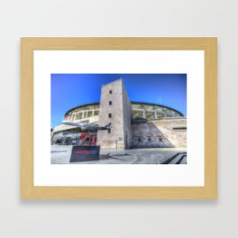 Besiktas Football Club Stadium Istanbul Framed Art Print