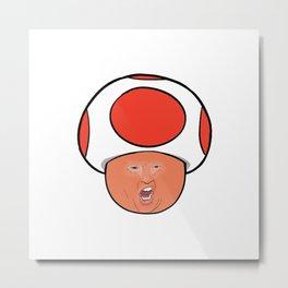 Trump Toad Metal Print