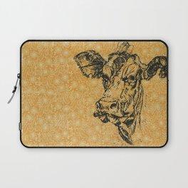 Screen Print Cow 1 Laptop Sleeve