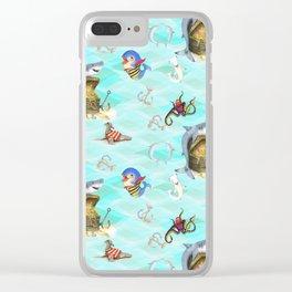 Shark's Treasure Clear iPhone Case