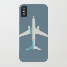 737 Passenger Jet Airliner Aircraft - Slate iPhone Case