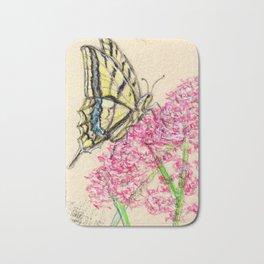 Collette's butterfly Bath Mat