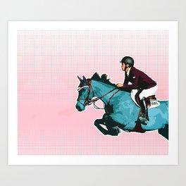 Through the Grid Art Print
