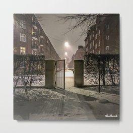 Winter is apparently already here Metal Print