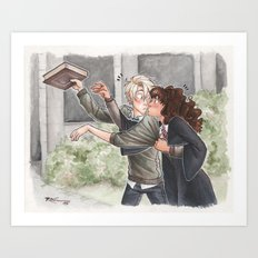Give that back [Dramione] Art Print