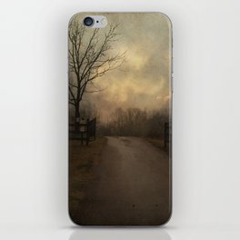 Uphill at Dusk iPhone Skin