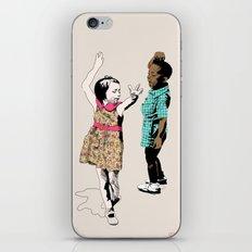 Dancing Kids iPhone & iPod Skin