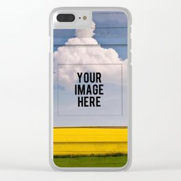 Mix Social App Media Background Clear iPhone Case