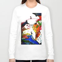 olivia joy Long Sleeve T-shirts featuring Joy by Aaron Carberry