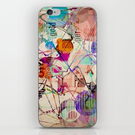 Abstract Expressionism iPhone Skin