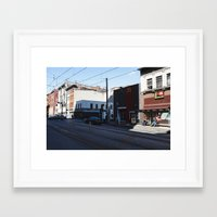 baltimore Framed Art Prints featuring Baltimore by Nick Coleman