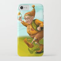 gnome iPhone & iPod Cases featuring Gnome by Olga Shefranov