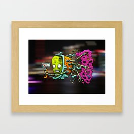 VROOOM Framed Art Print