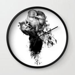 MOMENTO MORI XII Wall Clock