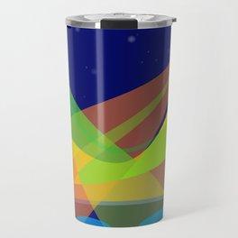 Landscape with 2 moons Travel Mug