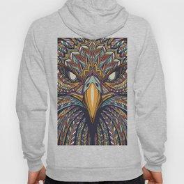 Aztec Eagle Face Hoody