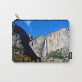 Yosemite Falls from Yosemite Valley Carry-All Pouch