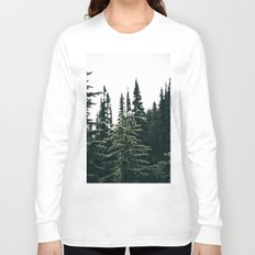 Grey Jay in The Trees Long Sleeve T-shirt