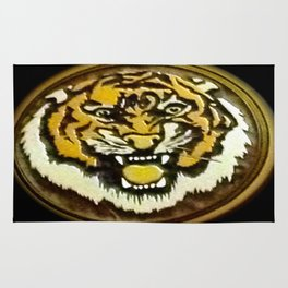 LSU Tiger Rug