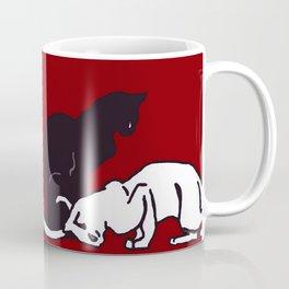 "Théophile Steinlen  ""Frise de chats"" (edited)(2) Coffee Mug"