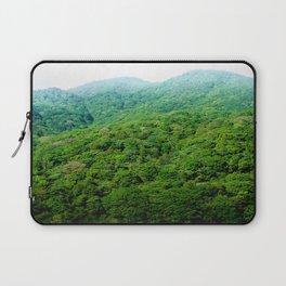 Green Hills of Hakone Laptop Sleeve