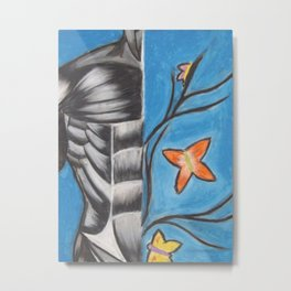 Butterflies in My stomach Metal Print