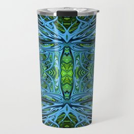 Emerald Electrigrass by Chris Sparks Travel Mug