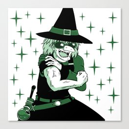 Rad Muscle Witch Canvas Print