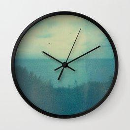 Hazy Day Wall Clock