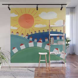 Sing to the Sun Wall Mural