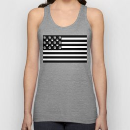 US Minifigure Flag - Horizontal Unisex Tank Top