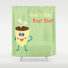 Expresso Shower Curtain